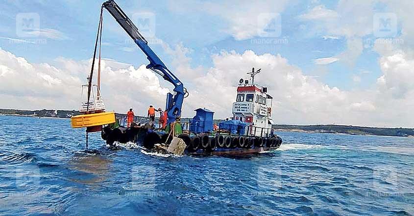 Turbidity measuring units installed off Vizhinjam coast