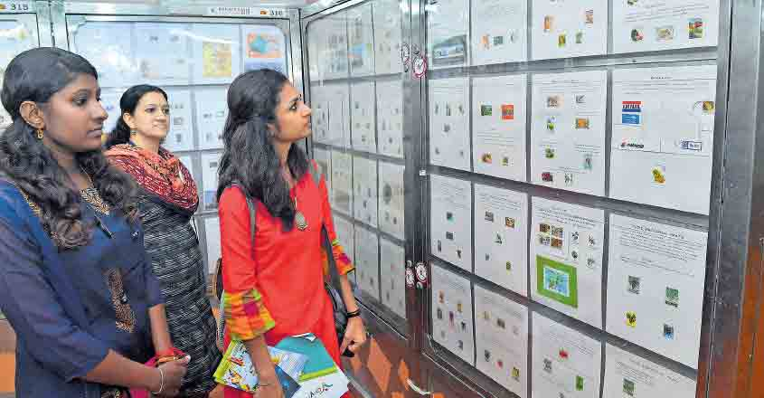 Gandhi stamps sought-after at philately exhibition