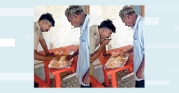 Kerala cop shares lunch with famished man on hartal day, video is a hit