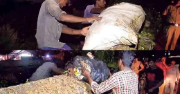 RPF forces gang to take back garbage dumped on track