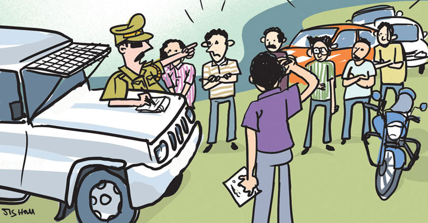 COVID-19 lockdown: Youth slapped with police case for stepping out to meet astrologer