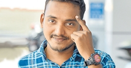 Kerala youth designs watch to alert against touching your face