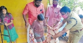 DySP keeps his word, visits differently-abled child at home