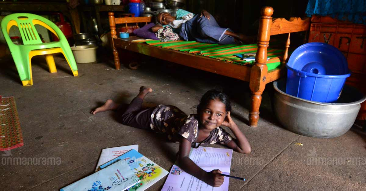 Children at relief camp get TV, thanks to little Sanjana