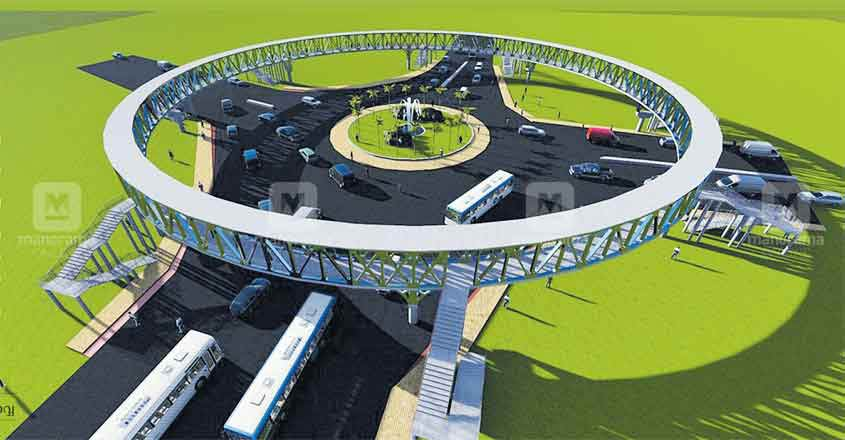 Thrissur skywalk to be ready in a year, work begins