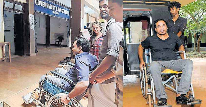 High Court revives disabled youth's dreams of becoming a lawyer