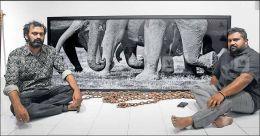 Exhibition casts light on elephant saga
