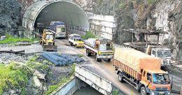 One-lane traffic at Kuthiran until March
