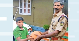 'My football is missing,' 10-year-old dials the cops at Pazhayannur