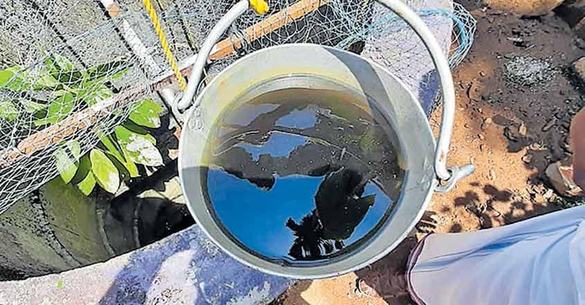 Distillery effluents likely polluting Muringoor wells