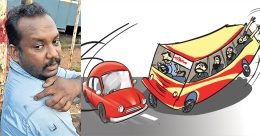 Man arrested over attacking KSRTC driver after waylaying bus
