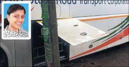 Mother of toddler dies as door of moving bus bangs her