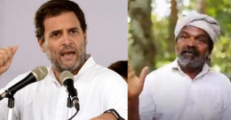 Wayanad paddy conservator helps Rahul Gandhi to bring farmers' issues to light