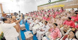 94 couples tie the knot at mass wedding in Wayanad
