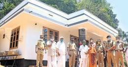 Wayanad family gets new house thanks to police