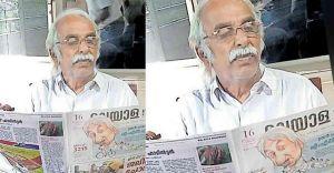 Narayana Warrier, Oommen Chandy's lookalike in Wayanad