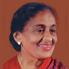 Mrs K M Mathew