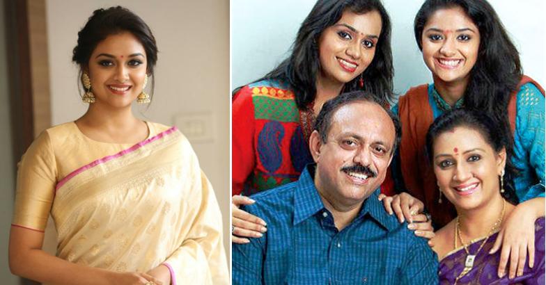 keerthi-suresh-family