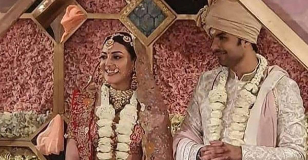 kajal-aggarwal-gautam-wedding-first-pic