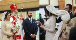 Miya George-Ashwin Philip wedding: See their first pics as a married couple