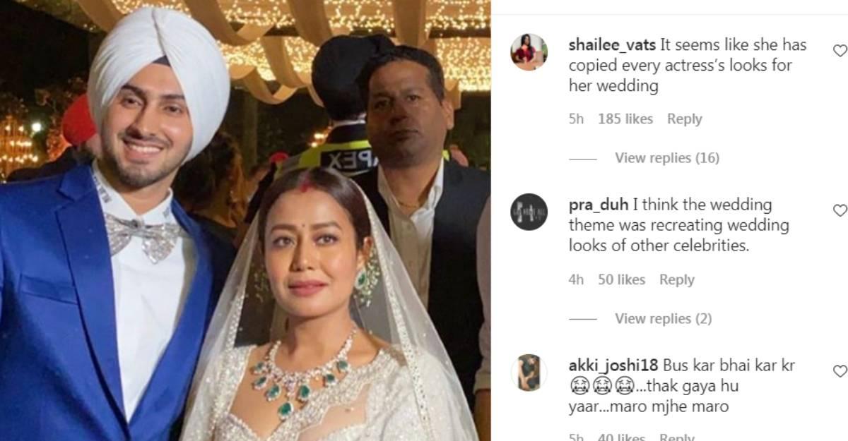 neha-kakkar-wedding-comments