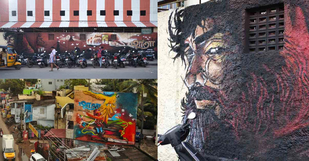 The Keralite who spread Maara's magic through his mesmerizing wall art in Chennai