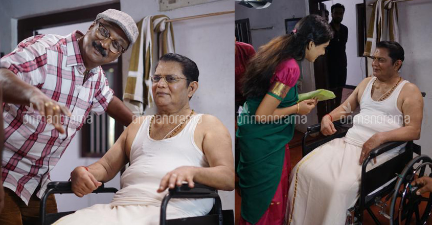 Jagathy Sreekumar is all fit for acting, location pics from his movie 'Kabeerinte Divasangal' proves it