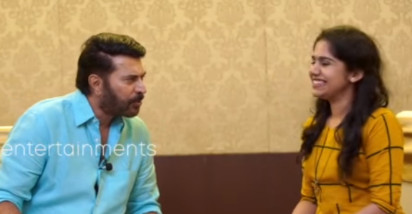 'Don't be afraid, I wont eat you', Mammooty's prep talk to reporter would leave you in splits