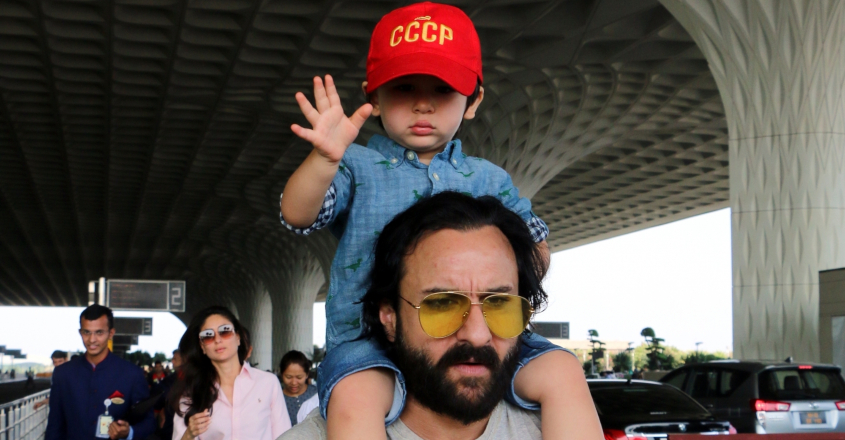 Don't stalk him, he is just a child: Saif