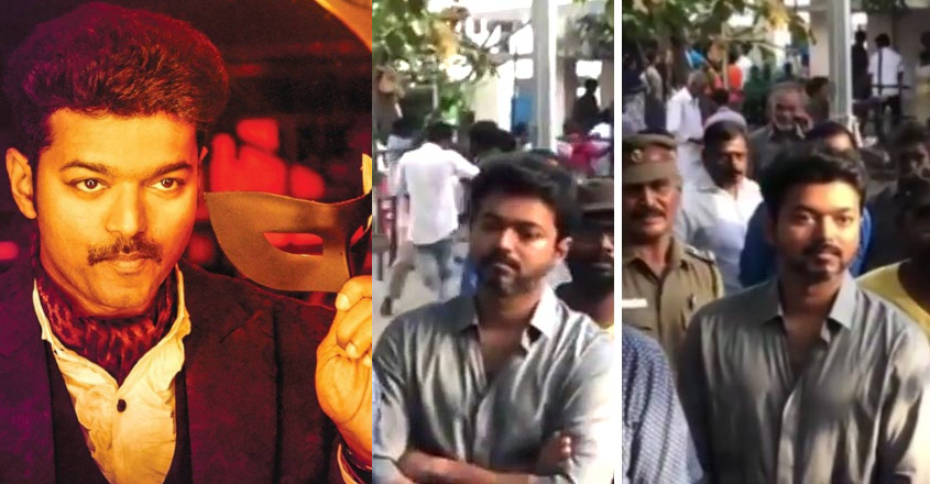 Vijay wins hearts as he waits his turn at polling booth
