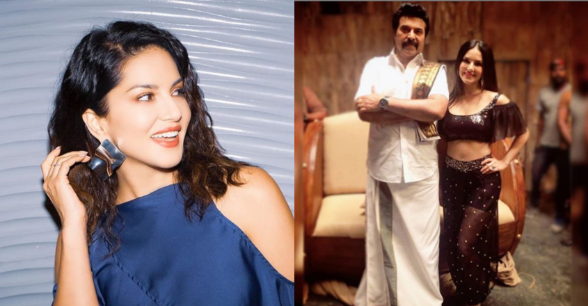 Sunny Leone thanks Mammootty and 'Madhura Raja' fans
