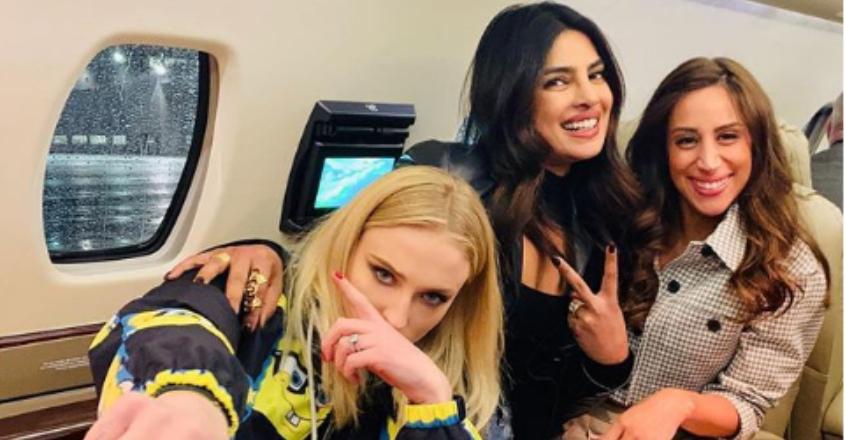 Priyanka calls Sophie Turner, Danielle 'J sisters'