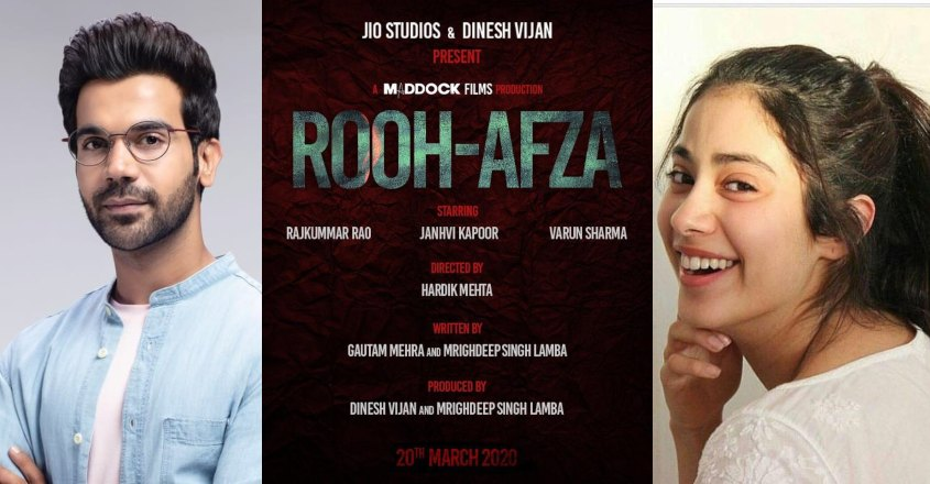 Excited to work with Janhvi in 'Rooh-Afza': Rajkummar Rao