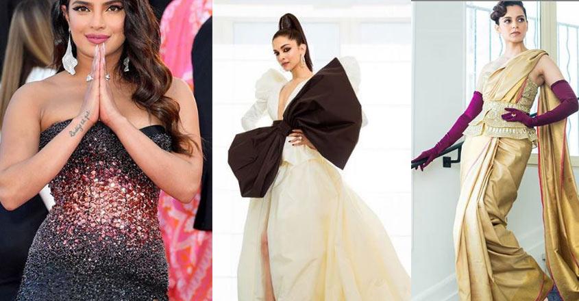 Priyanka, Deepika, Kangana awe onlookers at Cannes red carpet