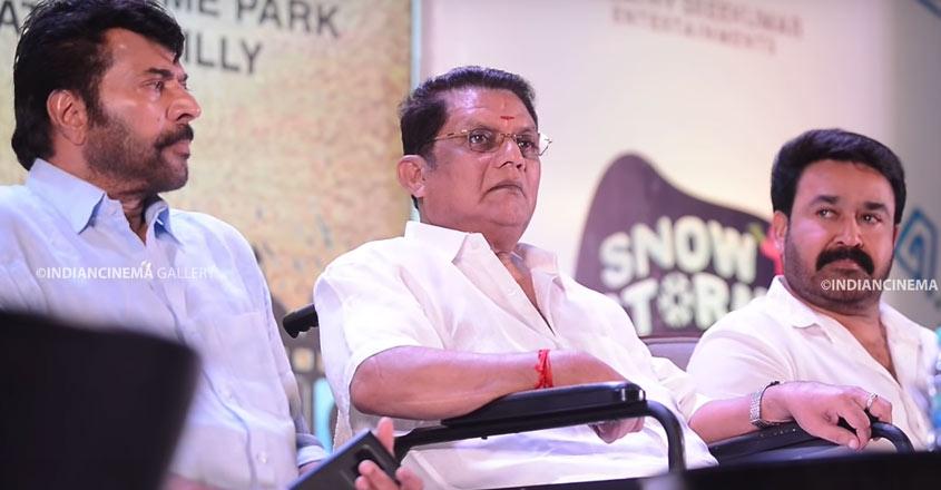 Mammootty-Mohanlal join hands to mark the comeback of Jagathy Sreekumar
