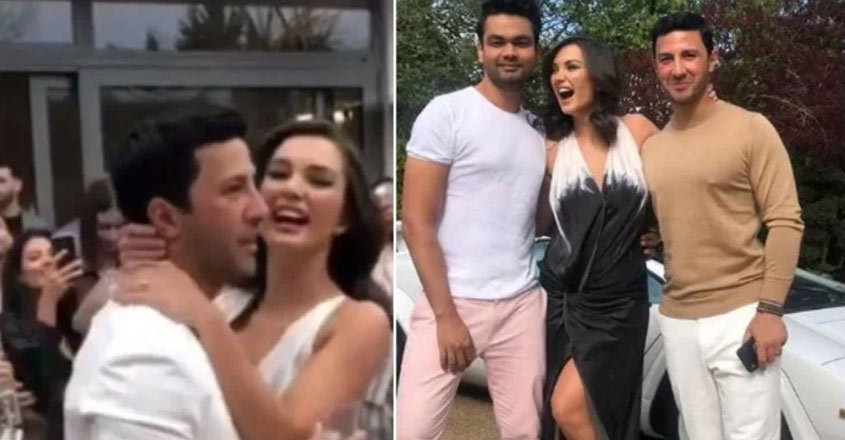Amy Jackson gets engaged to George Panayiotou
