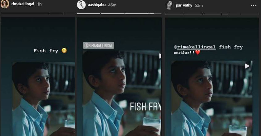Aamir takes a 'glass of milk' to prove what Rima said about a 'fish fry'