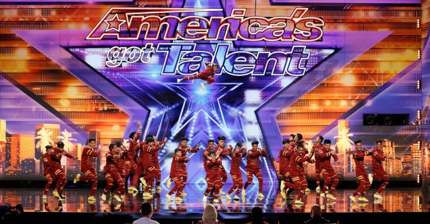 Indian dance group wows 'America's Got Talent'