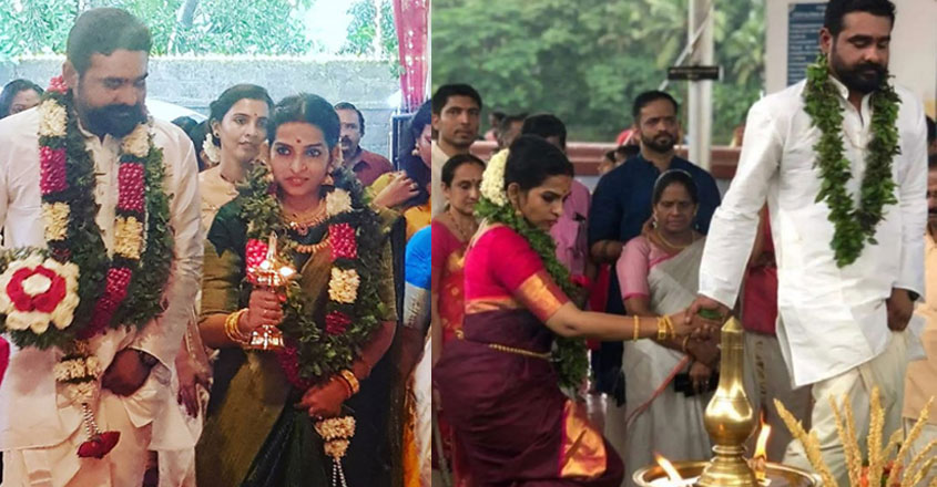 Sidharth Bharathan enters into wedlock