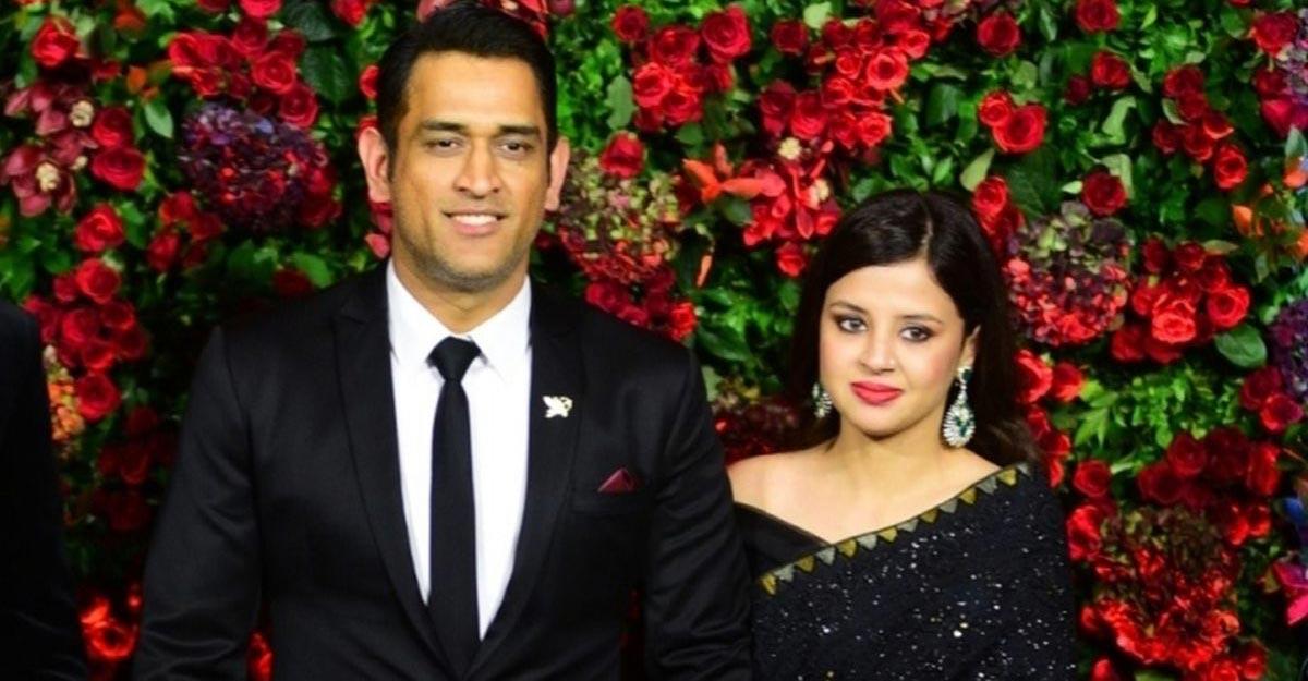 Mahendra Singh Dhoni and Sakshi Dhoni. (File Photo: IANS)