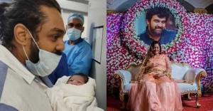 Meghana Raj blessed with baby boy