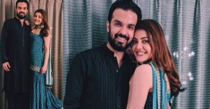 Kajal Aggarwal shares first pics with fiance Gautam Kitchulu