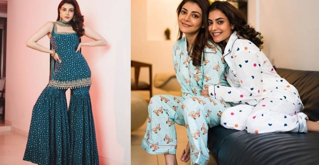 Kajal spending 'last days' as Ms Aggarwal, shares pics from pyjama party