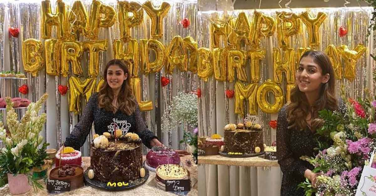 Nayanthara gets the perfect birthday surprise from her brother