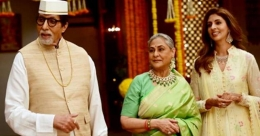 Amitabh Bachchan shoots with wife Jaya, daughter Shweta