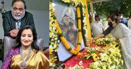 Sumalatha pens emotional note on Ambareesh's death anniversary, says 'you live through me'
