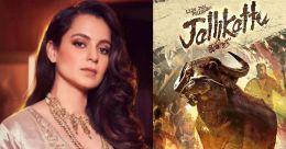 Kangana Ranaut lauds Jallikattu's Oscar entry, takes a dig at Bollywood