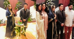 Nadirsha's daughter gets engaged, Dileep and others grace the function