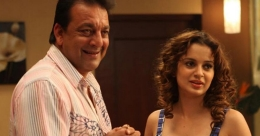 Kangana Ranaut meets Sanjay Dutt, says surprised to see him look even more handsome