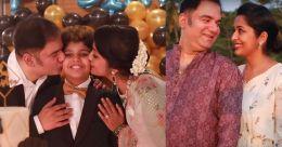 Navya Nair hosts a lavish birthday party for son